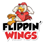flippin wings logo